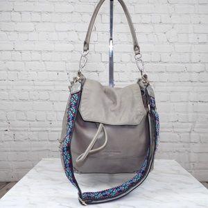 Liebeskind Berlin Gray leather multi wear bag